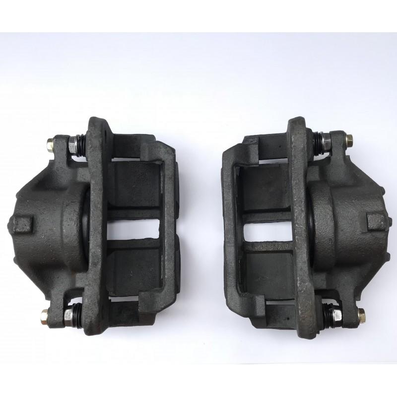 Суппорт переднего тормоза левый и правый без тормозных колодок
